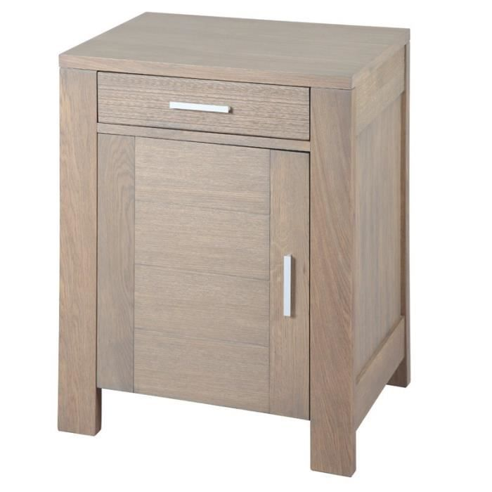 confiturier ch ne gris oaky achat vente buffet. Black Bedroom Furniture Sets. Home Design Ideas