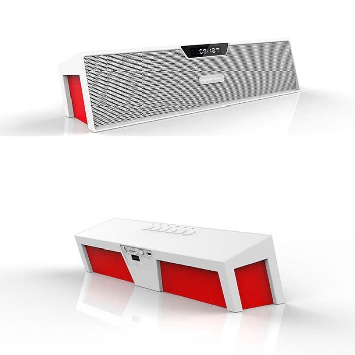 ENCEINTE NOMADE SDY-019 Enceinte Bluetooth FM Radio Lecteur De Car