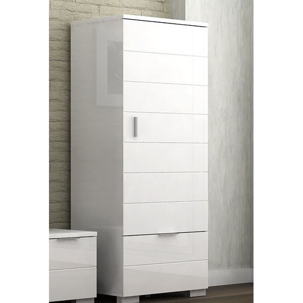 colonne laqu blanche 39 bloom 39 achat vente petit meuble rangement colonne laqu blanche. Black Bedroom Furniture Sets. Home Design Ideas