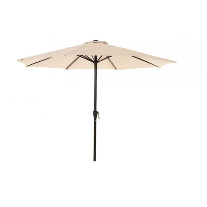 awesome tonnelle pliante brico depot 13 parasol fidji rond 3m hesperide. Black Bedroom Furniture Sets. Home Design Ideas