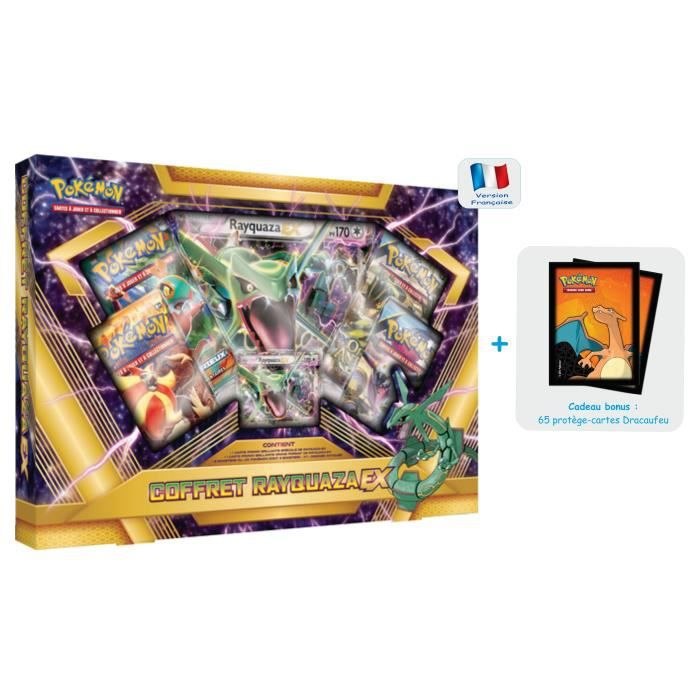 Carte pokemon coffret pokemon rayquaza ex en vf 1 - Carte pokemon geante ...