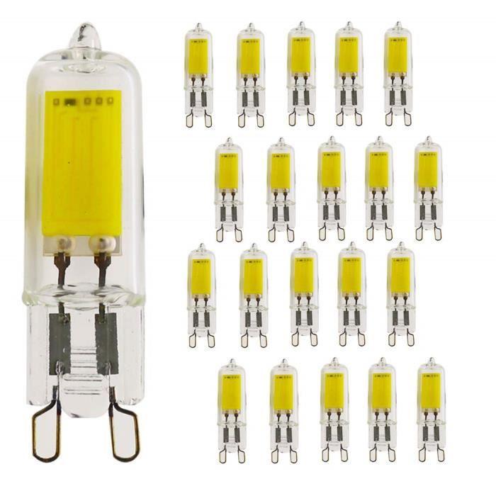 G9 E14  3W 5W 7W LED Ampoule Maïs Lampe Capsule blanc chaud Remplacer halogène