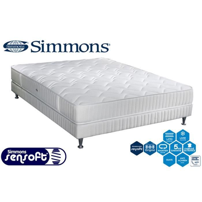 matelas sommier simmons maison design. Black Bedroom Furniture Sets. Home Design Ideas