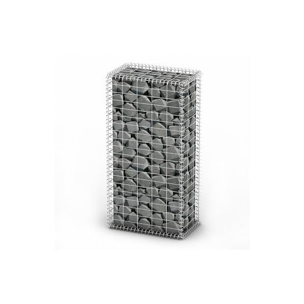 superbe gabion base pour mur 100 x 50 x 30 cm achat. Black Bedroom Furniture Sets. Home Design Ideas