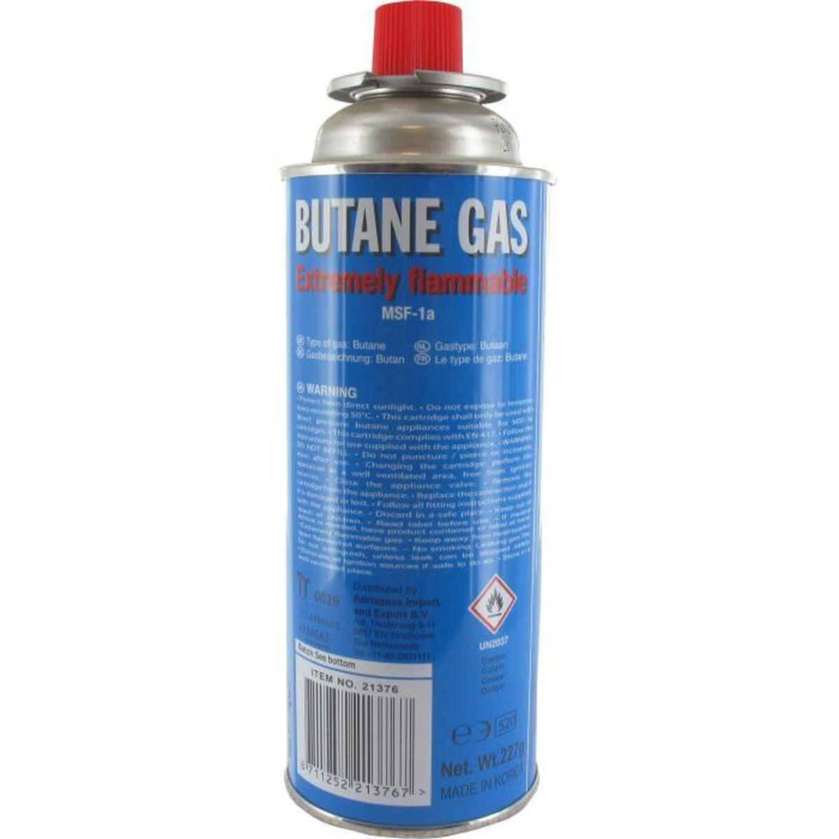 Bombonne de gaz rechargeable 2 Kg vide /€/â /â /â avec robinet /€ Papillon /€