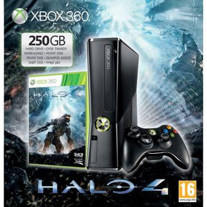 PACK XBOX 360 250GO + HALO 4