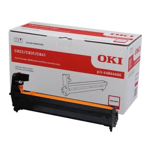 OKI Kit tambour 44844406 - Compatible C822 - Magenta - Standard 30.000 pages