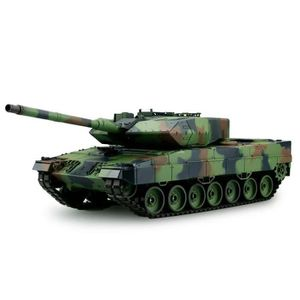 VOITURE - CAMION Tank Panzer LEOPARD 2 A6 1/16 ème