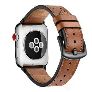 BRACELET DE MONTRE Zeiger Bracelet Cuir pour Apple Watch 42mm 44mm Ma
