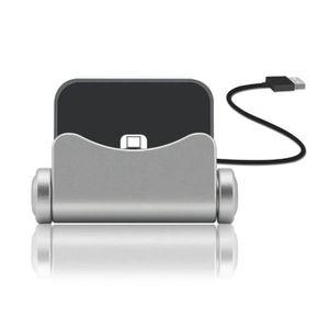 CHARGEUR TÉLÉPHONE (Gris) I-Tronixs Chargeur de telephone USB Dock  