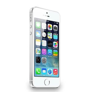 SMARTPHONE RECOND. iPhone 5S 16 Go Argent Reconditionné à neuf Remade