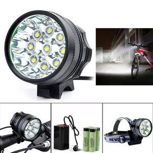 LAMPE DE POCHE 15000LM 7 x XM-L T6 LED 6 x 18650 recyclage de bic