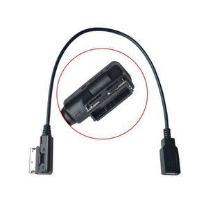 CONVERTISSEUR AUTO Câble adaptateur audio USB pour AudiA4 A6 Q5 Q7 Vo