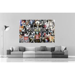 AFFICHE - POSTER BANKSY COMPILE 02 STREET ART GRAFFITI Wall Art Pos