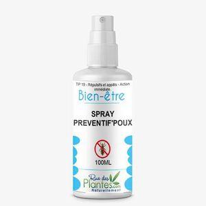 ANTI-POUX Spray préventif'poux 100ml