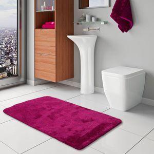10XDIEZ Tapis de bain Malta Couleur Rose