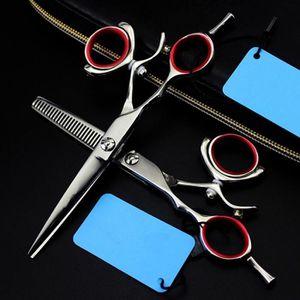 CISEAUX - EFFILEUR 440c 5.5 pouce rotation cheveux ciseaux à effiler