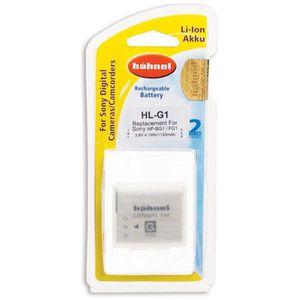 BATTERIE APPAREIL PHOTO HAHNEL HLG1 Batterie li-ion conçue pour les appare