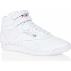 BASKET REEBOK Baskets  FREESTYLE  FEMME  BLANC
