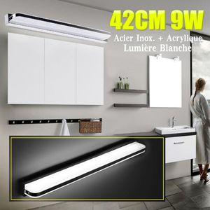 APPLIQUE  TEMPSA 42cm 9W Lampe LED Miroir Murale Anti-buée E