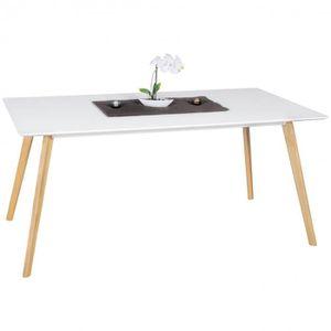 TABLE À MANGER SEULE WOHNLING table à manger 160 x 76 x 90 cm table à m