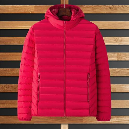 Vif Rose Fashion Hoodie Outwear Pure Coat Cotton Thickened Winter Zipper Color Men's PvFUwn
