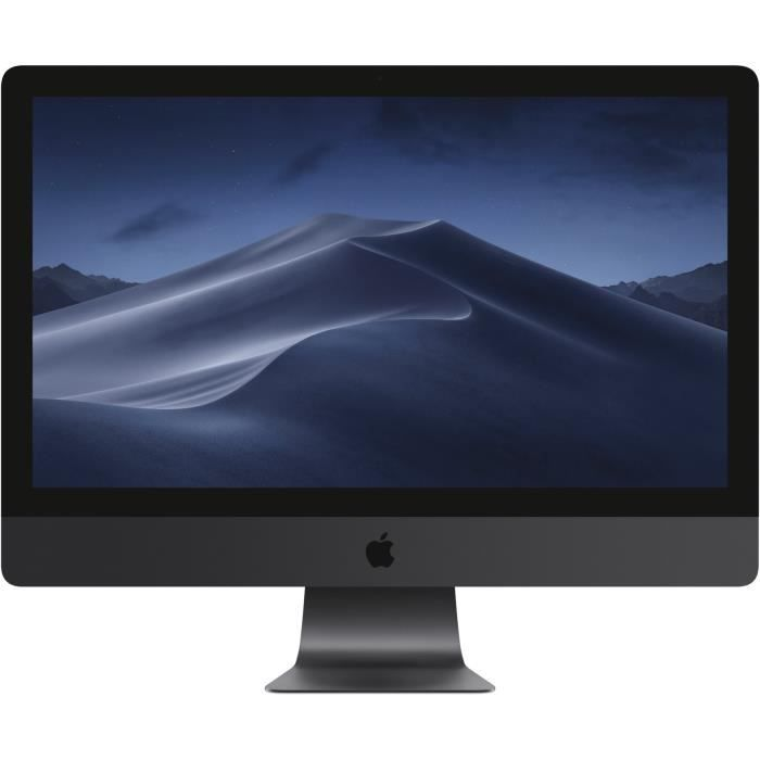 Apple iMac Pro with Retina 5K display Tout-en-un 1 x Xeon W 3.2 GHz RAM 32 Go SSD 1 To Radeon RX VEGA 56 GigE, 10 GigE LAN sans...
