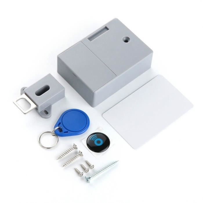 Sans perforer le contrôle de porte de serrure numérique RFID de serrure d'armoire de trou RFID