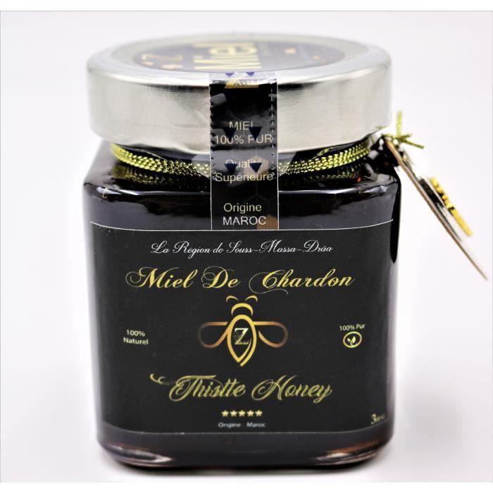 Miel de Chardon du Maroc 100% Authentique 100%Pur. 300 g