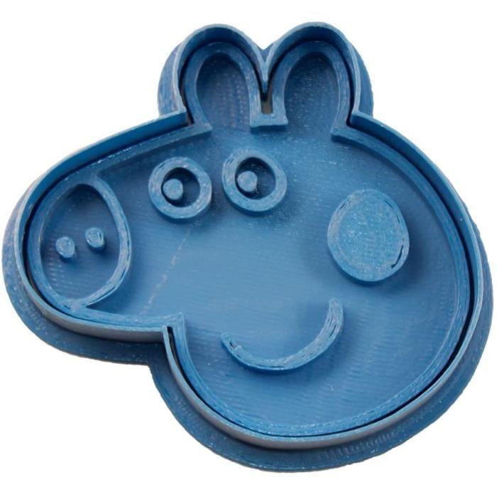 MOULE A GATEAU Cuticuter Peppa Pig CoupeBiscuits Bleu 8 x 7 x 15 cm1362