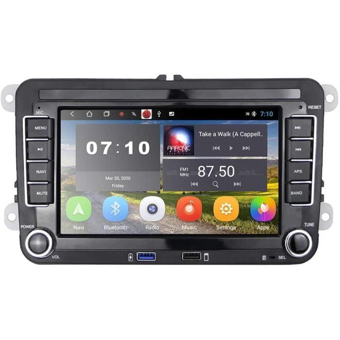 [2G+32G] Autoradio Android pour VW Navigation GPS 7- Écran Tactile Capacitif Bluetooth Voiture Stéréo WiFi Récepteur Radio FM[546]