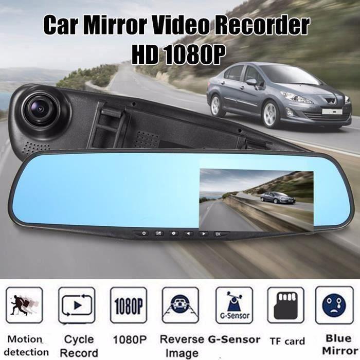 NEUFU 4.3'' 1080P FHD TFT Moniteur Rétroviseur Caméra Rearview Mirror Pr Voiture Auto A58999