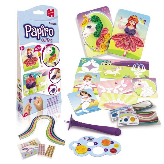 JUMBO Papiro Pack quilling Princesse