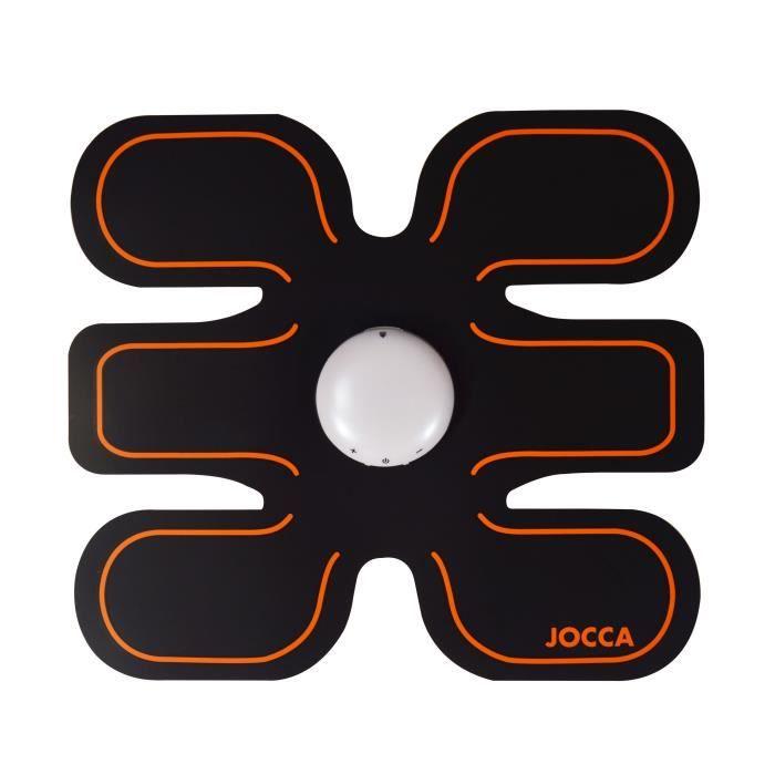 JOCCA Électrodes de musculation pour abdominaux - 5 programmes - 15 niveaux
