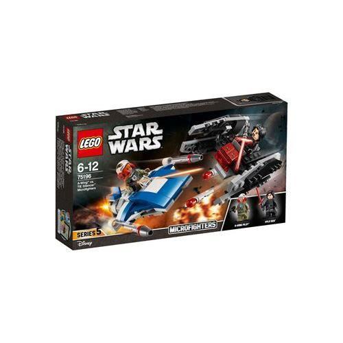 LEGO® Star Wars™ 75196 Microfighter A-Wing™ vs. Silencer TIEM
