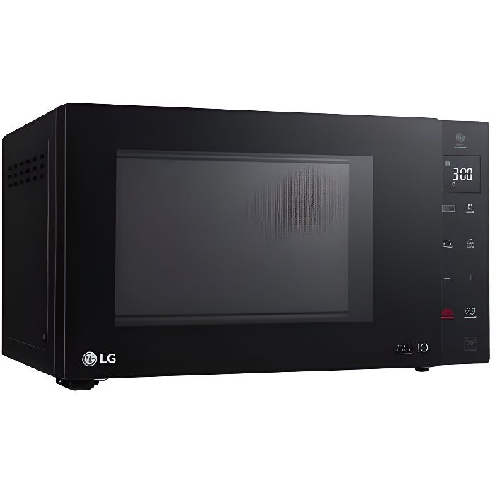 LG NeoChef, Comptoir, Micro-onde combiné, 23 L, 1150 W, Toucher, Noir