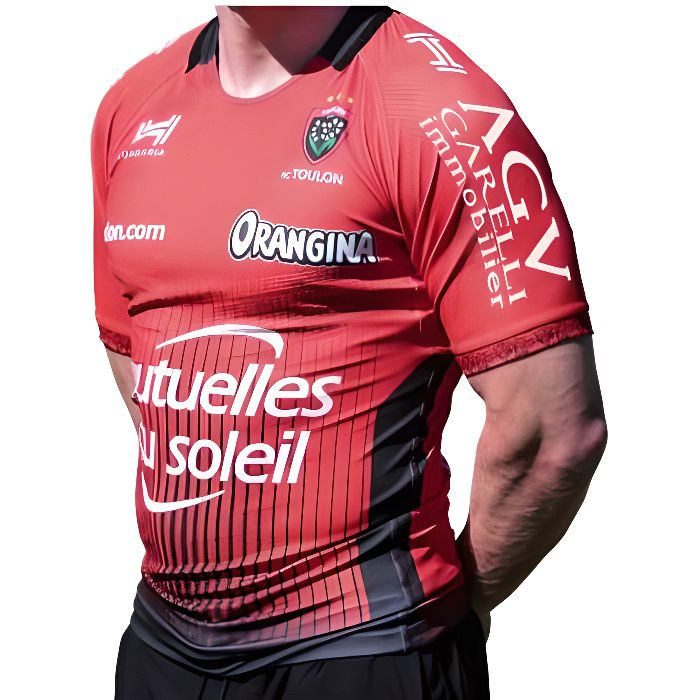 Maillot rugby Rugby Club Toulonnais réplica domicile 2017/2018 adulte - Hungaria