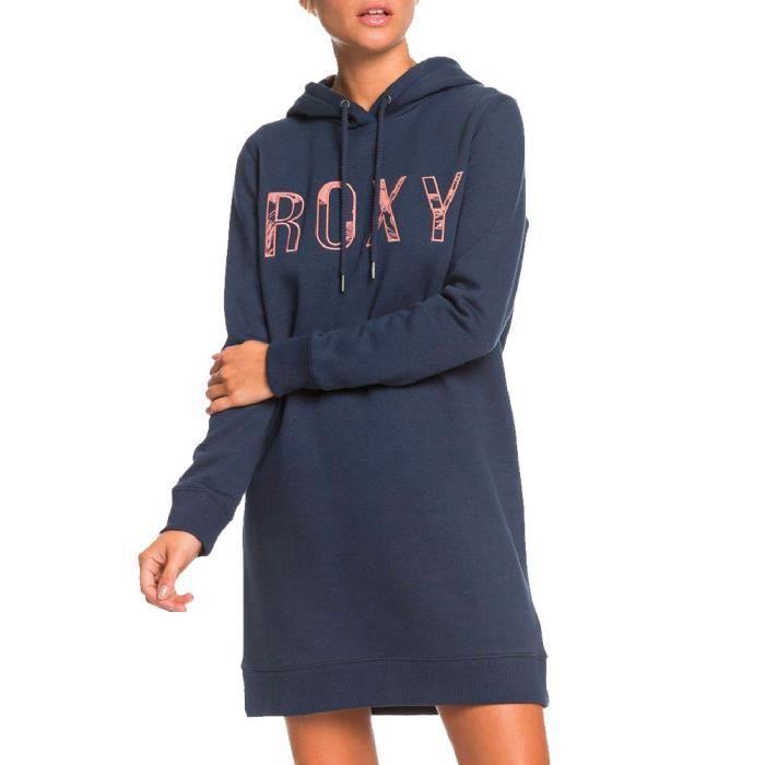 Robe Sweat Bleu Marine femme Roxy Be Rider