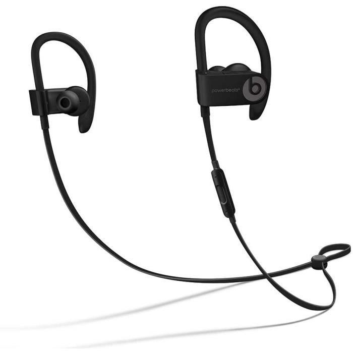 Beats Powerbeats3 Écouteurs sans fil haute performance Bluetooth Sport Casque - Noir