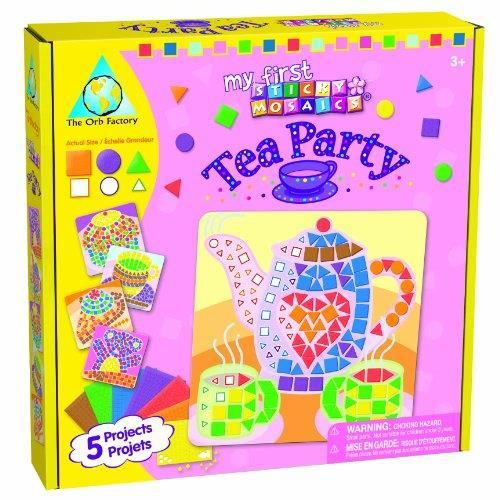 The Orb Factory My First Sticky Mosaics Tea Party