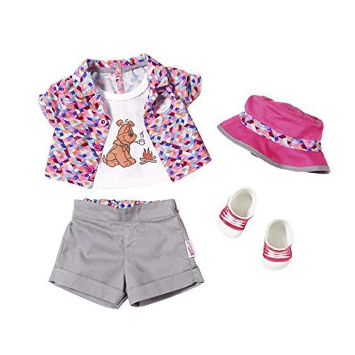 BABY born Play&Fun tenue de camping Deluxe