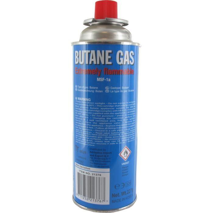 battery/® Cartouche de gaz butane 220/g pour r/échaud de camping Cartouche et des barbecues