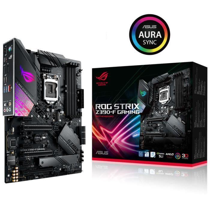 CARTE MÈRE Carte mere ASUS STRIX Z390-F Gaming, Intel Z390 Ro