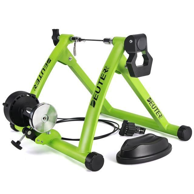 Intérieur Exercice Vélo Trainer Support Portable Magnétique Niveau 6 Résistance Training
