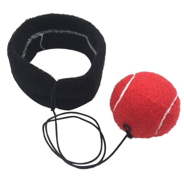 Xnature Fight Ball Reflex Balle De Combat Avec Bandeau De Tete Ballon De Boxe Pour La Formation De Vitesse Reflexe Punch Exercice Entrainement Accessoires D Entrainement Sports Et Loisirs