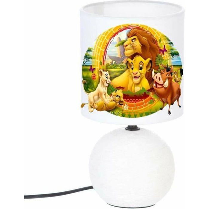 Lampe Chevet Pied Boule Simba Roi Lion 2 Achat Vente Lampe Chevet Simba Roi Lio Prolongation Soldes Cdiscount