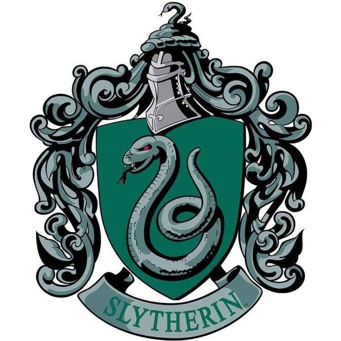 Blason en carton Maison Serpentard Poudlard Harry Potter ...