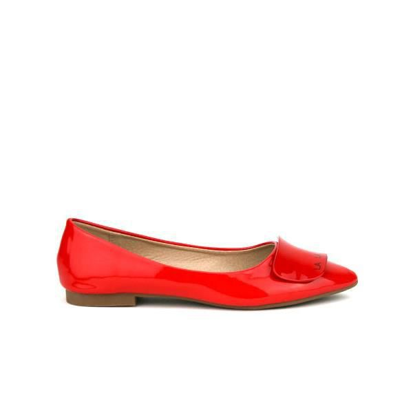 Ballerines Rouge Chaussures Femme, Cendriyon