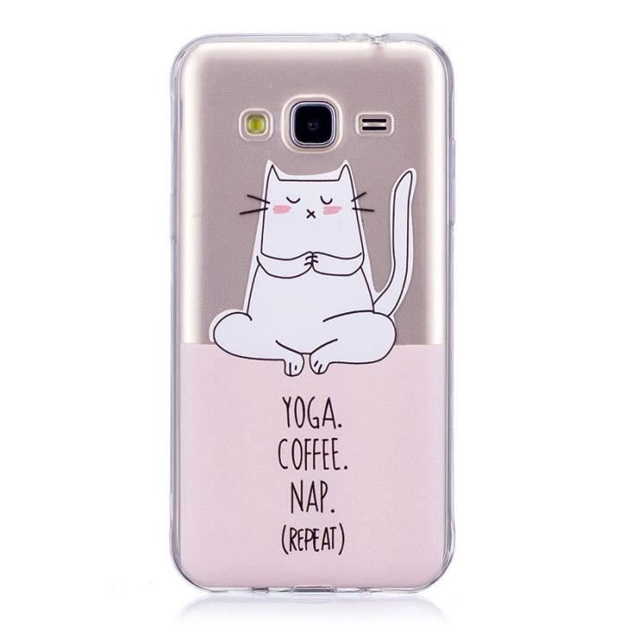 coque galaxy j3 2016 chat