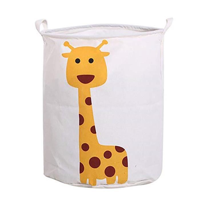 1pc Sac De Rangement En Motif De Girafe Dessin Anime Panier De Rangement De Durable Stockage De Jouets Achat Vente Panier A Linge 1pc Sac De Rangement En Motif Cdiscount